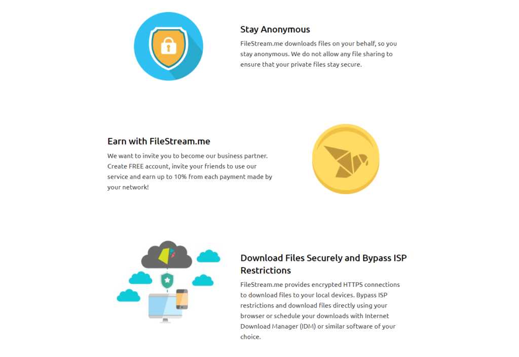 The core features of Filestream