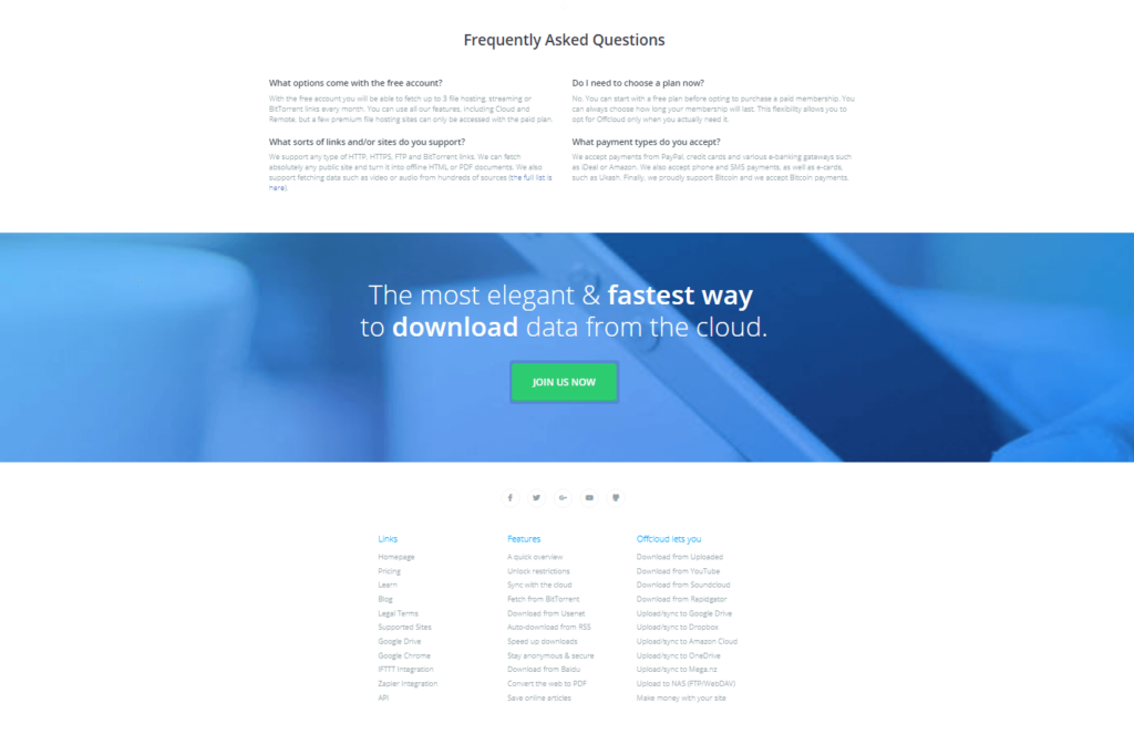 Offcloud review - Torrent Compare