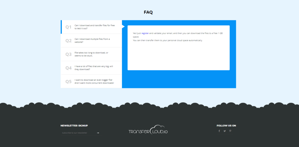 Their FAQ look nice